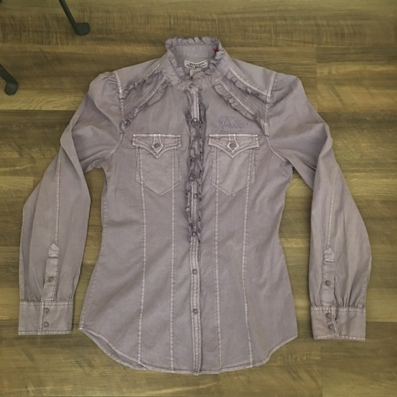 Parasuco Tops - Western style long sleeve shirt